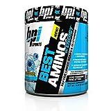 BPI best aminos W/energy blue icy raz 30servings