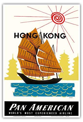 hong-kong-china-chino-basura-nave-y-pagoda-templos-pan-american-world-airways-vintage-airline-travel
