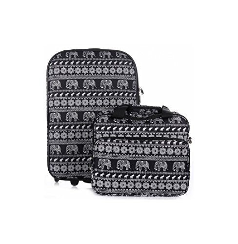 Valise cabine plus reporter DAVID JONES ELEPHANT