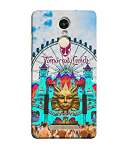 COVER STORE Tomorrowland Back Cover For REDMI NOTE 3