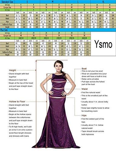 Ysmo Frauen A-line Umfasst 2 Stück Tüll O-neck Perlenbesetzten Sexy Zurück Knielangen Homecoming Kleider Kurzen Ball Ballkleid Dunkelrot