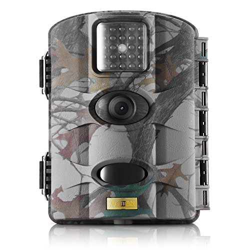 「NEW ON SALE 50% OFF」Trail Camera-Artitan M330 LCD Display 12 Megapixel 1080P HD 60° Infrared Night Vision Waterproof Hunting Trail Game Camera Surveillance Camera ( Free With 8GB CARD)
