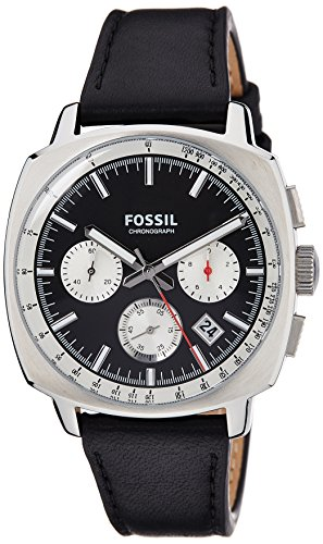 Fossil End of Season Haywood Analog Black Dial Men's Watch - CH2984