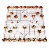 Larcele Holz Chinesisches Schach-Brettspiel Xiangqi MZXQ-01