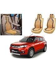 Auto Pearl Car Wooden Bead Seat Cover for Maruti Suzuki Vitara Brezza