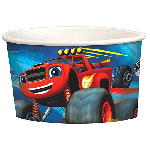 Amscan 431582Blaze Treat Cups (Große Halloween Blaze)