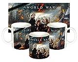 MasTazas Guerra Mundial Z World War Z Brad Pitt B Tazza Mug