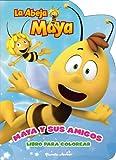Maya. Libro Para Colorear. Maya Y Sus Amigos (La Abeja Maya 3d)