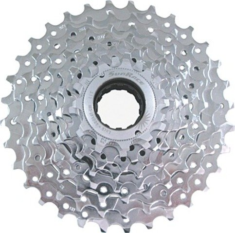 9-Fach SCHRAUB-ZK-MFEX9-11-32 Z.-E-Bike-verchromt (SunRACE) -