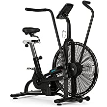 CAPITAL SPORTS Strike Bike • Bicicleta estática • Cardioentrenador • Ventilador de resistencia • Ordenador integrado