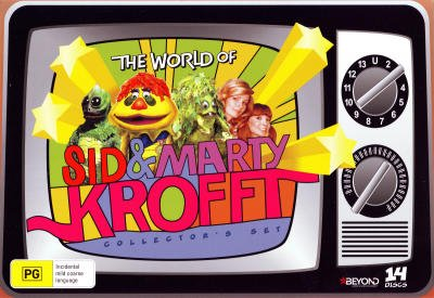 The World of Sid and Marty Krofft - Complete Series - 14-DVD Box Set ( H.R. Pufnstuf / Land of the Lost / Sigmund and the Sea Monsters / Electra Woman and Dyna [ Australische Import ] (Land Walker Womens)