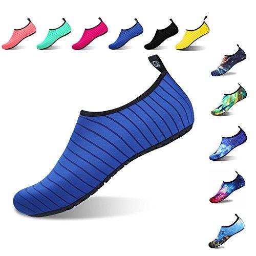 f68cabb1bc Aqua Shoes Escarpines Hombres Mujer Niños Zapatos de Agua Zapatillas Ligeros  de Secado Rápido para Swim