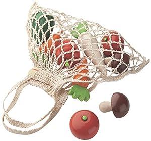 HABA 3841 Doc - Bolsa de Verduras de Madera para Mercado de Juguete