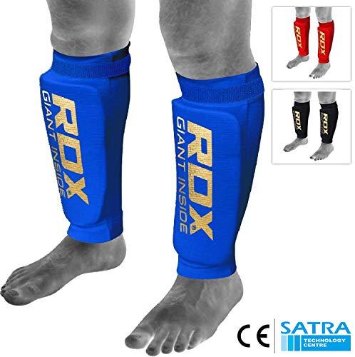 RDX Schienbeinschoner MMA Boxen Schienbeinschutz Kampfsport Kickboxen Schienbein Beinschützer Schienbeinschützer (CE Bescheinigt Genehmigt Durch SATRA) (MEHRWEG)