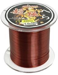0,20 mm diámetro 5,9 kg Burgundy nailon carrete de hilo de pesca de agua dulce o 300 m 1,5#