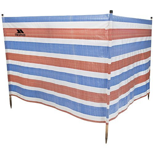 Trespass Cloudbreak Pare-Vent Mixte Adulte, Rayures Bleu/Blanc/Rouge