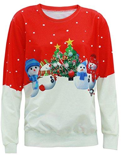 Belsen - Sweat-shirt - Femme snowman