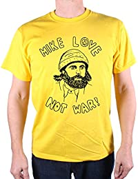 Mike Love Not War T Shirt by Old Skool Hooligans for Beach Boys afficionados!