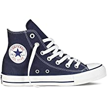 Unisex Chuck Taylor All Star Hi Top Zapatillas de deporte Azul marino (3.5) (Azul marino / Blanco, 8 B (M) US Mujeres / 6 D (M) US Men)
