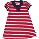 Fred's World by Green Cotton Mädchen Kleid Sailor Dress, Rot (Red 019176206), 122