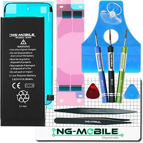 NG-Mobile Akku Batterie Battery 1829 mAh + Werkzeug Set + Universal APN - 1 Jahr Garantie für Apple iPhone 8 -