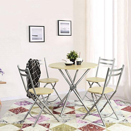 Innovareds Home Simple elegante tavolo da pranzo e 4 sedie ...