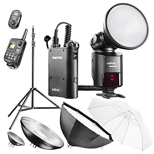 walimex pro Light Shooter 360 Portables Studio Set