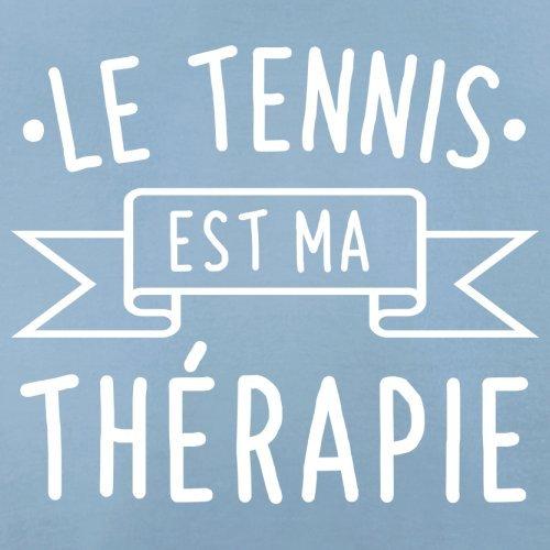 Le tennis est ma thérapie - Femme T-Shirt - 14 couleur Bleu Ciel