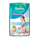 #10: Pampers Splashers Disposable Swim Pants Diapers, 11 Count (Large)