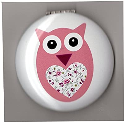 Cute Owl Compact Mirrors