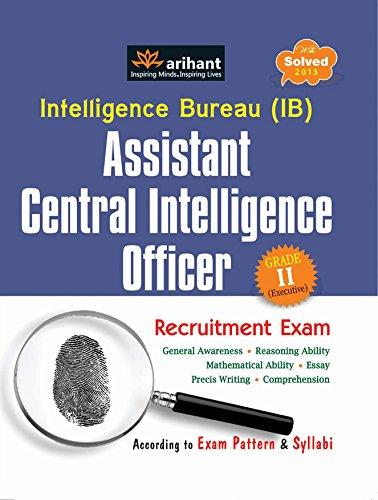 Intelligence Bureau Assistant Central Intelligence Officer Grade II Recruitment Exam
