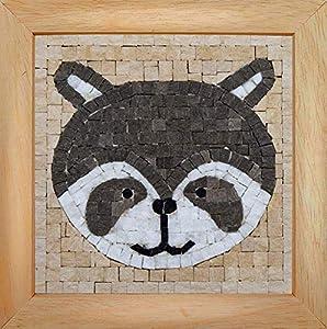 Trois petits points Mosaic Box Raccoon Face-GEANT, 6192459602547, Universal