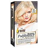 3 x L'Oreal Paris Preference Permanent Colour 03 Lightest Ash Blonde