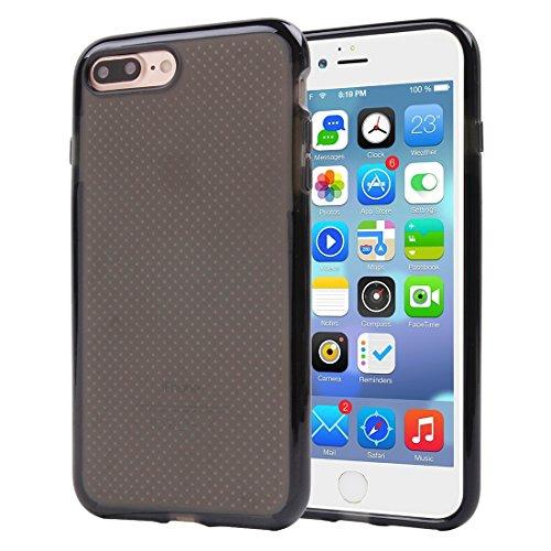 Hülle für iPhone 7 plus , Schutzhülle Für iPhone 7 Plus Basketball Textur Transparente TPU Schutzhülle ,hülle für iPhone 7 plus , case for iphone 7 plus ( Color : Pink ) Black