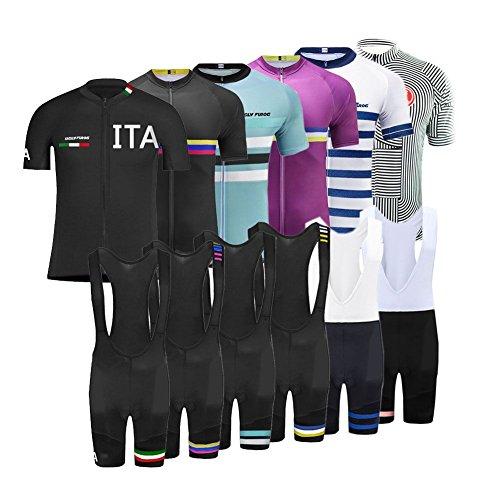 Uglyfrog Magliette Jersey Uomo Mountain Bike Manica Corta Camicia Top Abbigliamento ciclismo