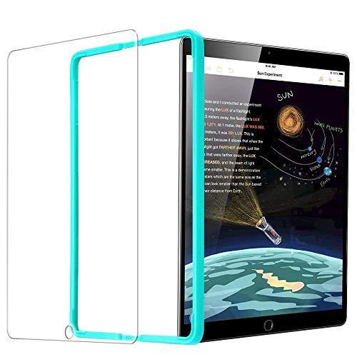 ESR Protector Pantalla para iPad 2018 [Instalación Fácil] Cristal Vidrio Templado para iPad 2018/2017/iPad Air 2/iPad Air/iPad Pro 9.7/iPad 6ª/5ª Generación