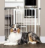 Carlson Pet Products Carlson 0930PW extra breites Schutzgitter mit Haustiertür