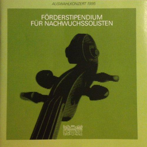 Auswahlkonzert des Förderstipendiums 1995 / 1996