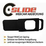 Webcam Abdeckung (schwarz) - Der sichere Schutz vor Internet Spionage