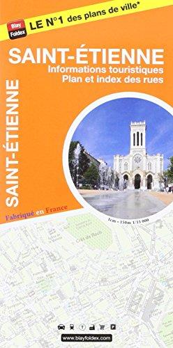 Saint-Etienne : 1/15 000, avec livret