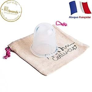 Cellu-cup® ventouse amincissante anti-cellulite transparente …