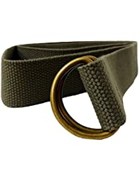 Men s KKompany Nouvelle ceinture de l anneau en D sur toile en coton pour  Yoga 6a5426f909c