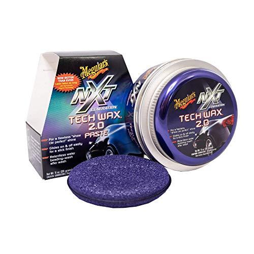 Meguiar\'s G12711 NXT Tech Wax Paste 2.0 Autowachs, 311 g