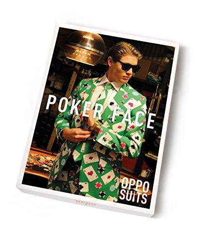 Poker Face Suit Size 48 multicolore