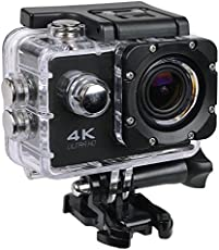 Heypex N6 4K WiFi Sports Action Camera with Ultra Hd Waterproof for All Smartphone Device (Random Colour)