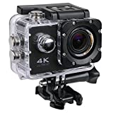 Teconica 4K Action Camera Full HD 1080P 2 Inch High Resolution LCD Screen