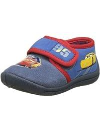Cars Jungen Boys Kids Velcro Low Houseshoes Unten
