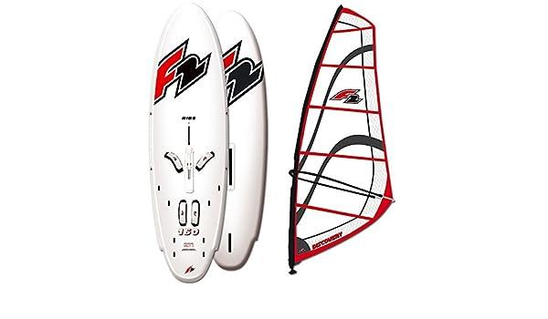 F2 Windsurf Board Ride Soft Deck 185 Litre Dagger Board, Discovery