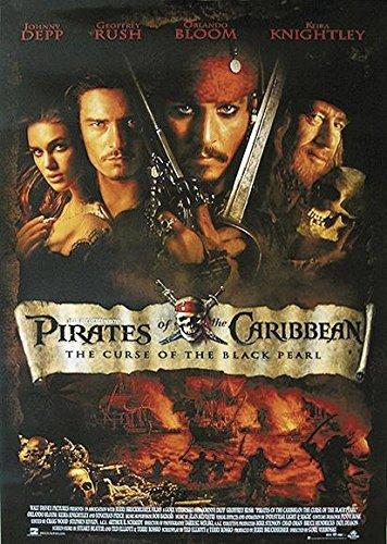 "Póster ""Piratas del Caribe"" Formato Regular US (68cm x 98cm) + embalaje para regalo"