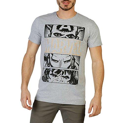Marvel Hero Eyes Dark, Camiseta para Hombre